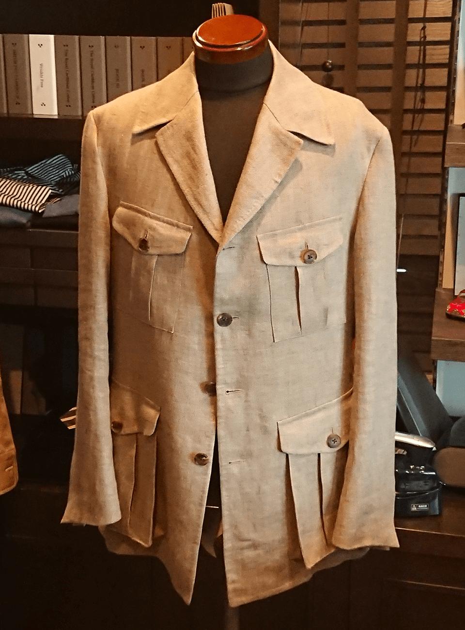 喜久蔵久米洋服店のオーダースーツ