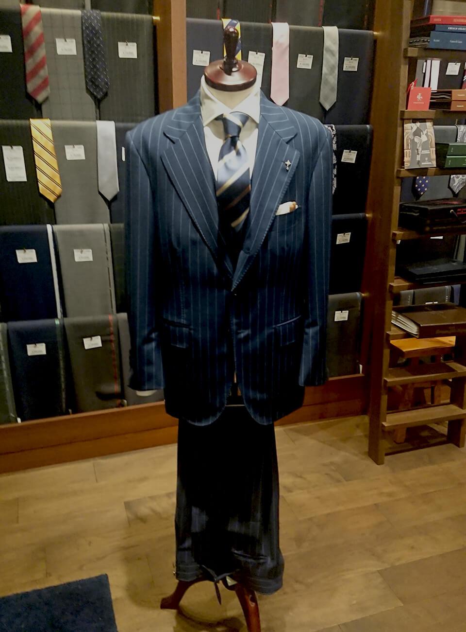 野間洋服店のオーダースーツ