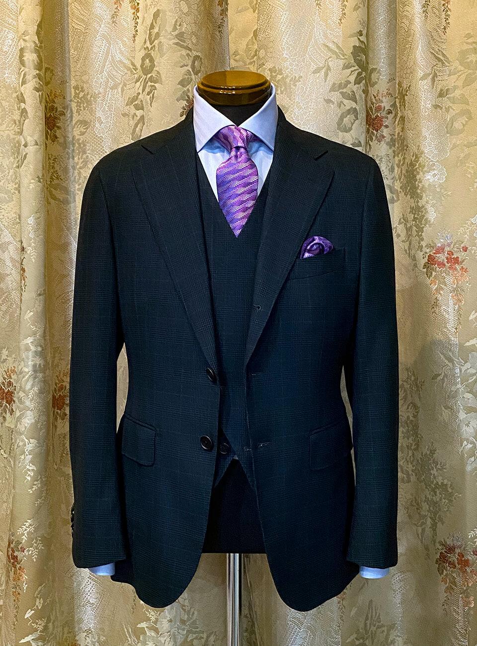 尾張屋洋品店のオーダースーツ